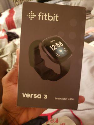 Fitbit versa 3 for Sale in Panama City, FL