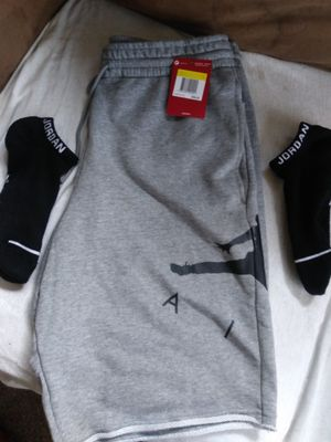 Brand new jordan shorts and socks for Sale in St. Louis, MO