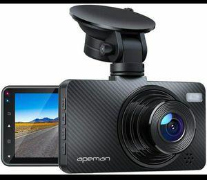"APEMAN Dash Cam 1080P Car Camera with 3"" LCD Screen, 170° Wide Angle, G-Sensor for Sale in Fontana, CA"
