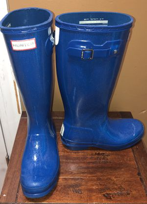 Hunter glitter rain boots for Sale in Youngsville, NC