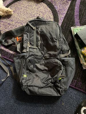 Mubasel gear light weight backpack gray for Sale in Torrance, CA