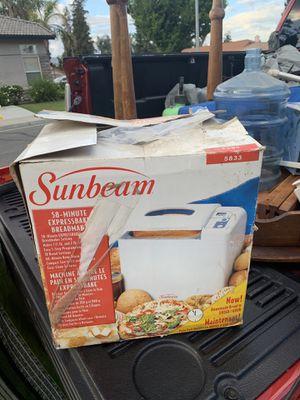 Sunbeam bread maker for Sale in Bakersfield, CA