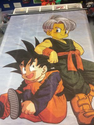Large Dragonball Z Cloth banner Goku $15 for Sale in Bloomingdale, IL