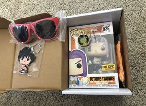 Funko Pop! Dragon Ball Z Hot Topic Exclusive Capsule Corp Trunks #639 for Sale in San Jose, CA