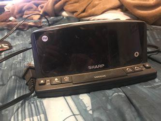 Sharp alarm clock for Sale in Tacoma,  WA