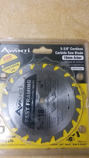 Avanti Carbide Saw Blade for Sale in Lauderhill, FL