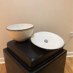 Serving Bowl And Platter for Sale in West Chicago, IL