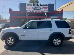 2007 Ford Explorer XLT 4WD for Sale in Phoenix, AZ