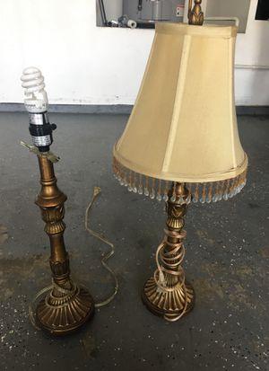 2 lamps for Sale in Stockton, CA