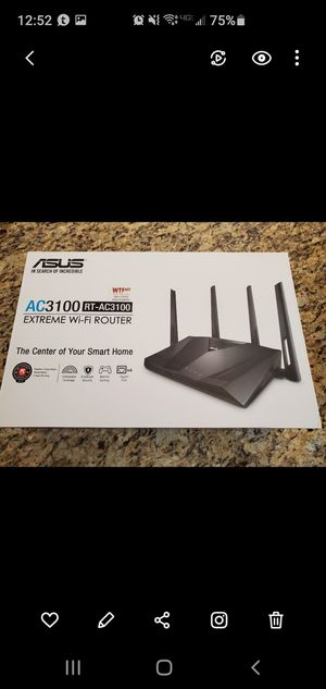 ASUS RT-AC3100 Router for Sale in Scottsdale, AZ