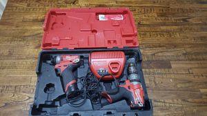 Milwaukee M12 Fuel impact & hammer drill for Sale in Davie, FL