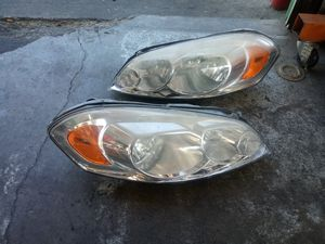 Headlights for a 2018 Chevy Impala for Sale in Broken Arrow, OK