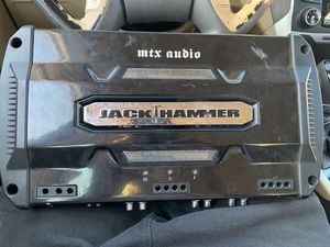 MTX audio Jack Hammer amp for Sale in Sacramento, CA