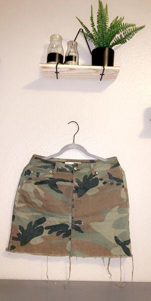 Topshop camo denim skirt for Sale in Lake Stevens, WA