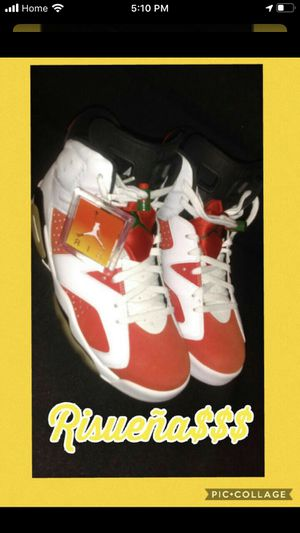 GATORADE Air JORDAN 6 RETRO MENS SIZE 9 LIKE NEW USED ONCE 10/10 CONDITION COME WITH ORIGINAL BOX for Sale in South Gate, CA
