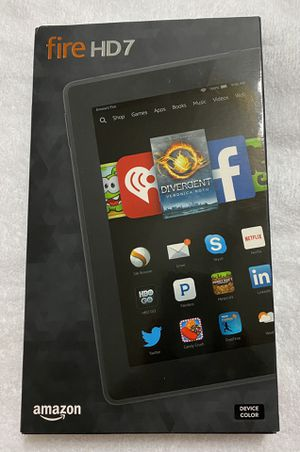 "Brand new Amazon Kindle Fire HD 7 4th Generation SQ46CW 7"" 8GB Wi-Fi Tablet-Pristine!! for Sale in Altamonte Springs, FL"