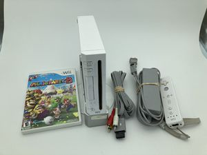 Wii with All Cables and sensor bar Mario Party 8 for Sale in Portland, OR