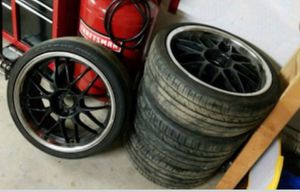 """20"""" staggered wheels for Sale in Los Angeles, CA"""