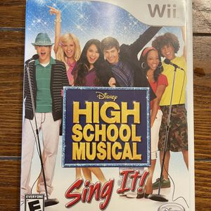 High School Musical Sing It And Wii Music Wii Games for Sale in Riverview, FL