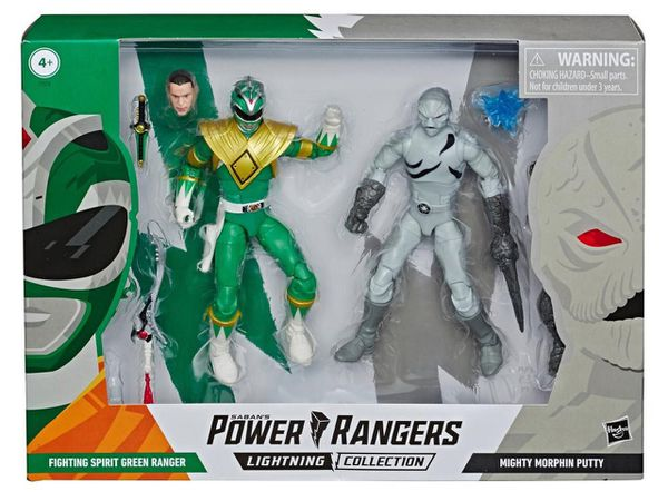 Power rangers Green Ranger and Putty lightning collection
