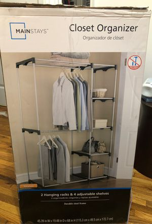 CLOSET ORGANIZER !! (Easy and convenient) for Sale in Brooklyn, NY