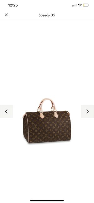Authentic Louis Vuitton 35 speedy have too for sale for Sale in Elkridge, MD