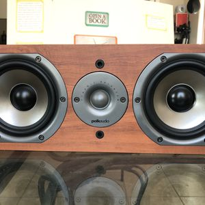 Polk Audio CS10 center channel Speaker, work Perfect very clean and shiny Like New $70 only for Sale in Phoenix, AZ