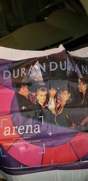 Duran duran wall flag art for Sale in Montebello, CA
