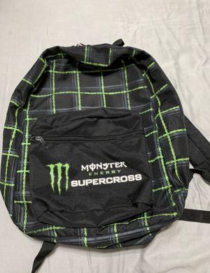 Monster Energy Supercross Backpack for Sale in Modesto, CA