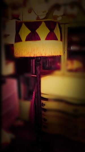 Vintage burlesque floor lamp for Sale in Atlanta, GA