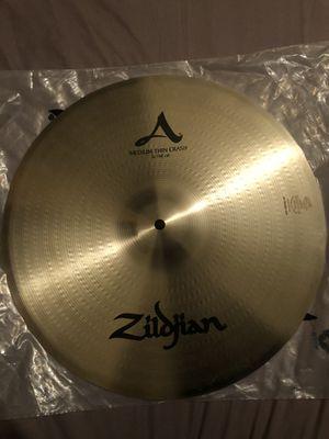 """Zildjian A 16"""" medium thin crash for Sale in Los Angeles, CA"""