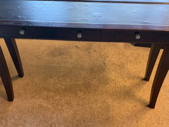 Classic Wooden Entry Way Table With 3 Drawers for Sale in San Diego,  CA
