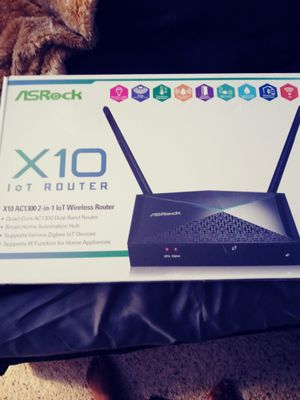 ASRock X10 Wireless router for Sale in Oklahoma City, OK