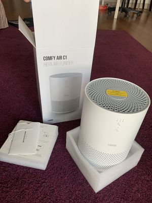 Hepa toppin air purifier $35 comfy airc1 for Sale in Spring, TX