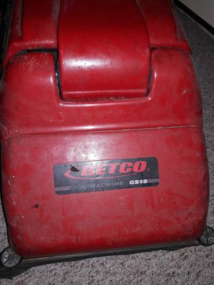 Betco GS15 Grout & Floor Scrubber Machine for Sale in Middleport, NY
