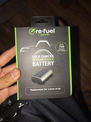 Battery for Dslr camera for Sale in Santa Ana, CA