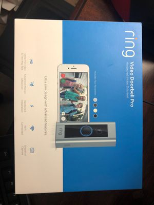 Ring video door bell PRO for Sale in Indian Land, SC