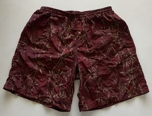 """Vintage Patagonia 8"""" Baggies Swim Trunk Shorts Lined Maroon Bamboo Men's Large for Sale in Chandler, AZ"""