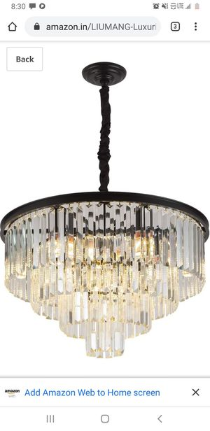 Luxurious crystal chandelier for Sale in San Antonio, TX