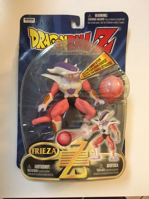 Dragon Ball Z FRIEZA Irwin Toys Deluxe Action Figure w/ Blasting Energy NEW IN PACKAGE!!! for Sale in FL, US