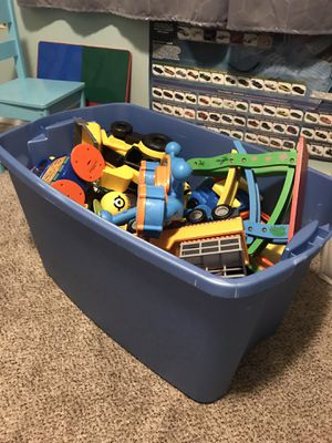 Tub of kid toys for Sale in Lakewood, WA