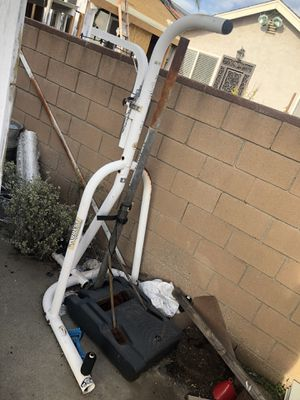 White Century Boxing Bag Stand trainer for Sale in Los Angeles, CA