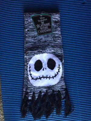 New the nightmare before Christmas Jack scarf for Sale in Carlsbad, CA