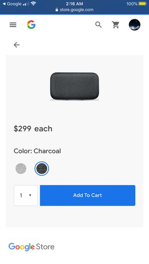 Google Home Max for Sale in Seattle, WA