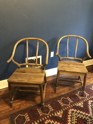 2 wood chairs for Sale in Pittsburgh, PA