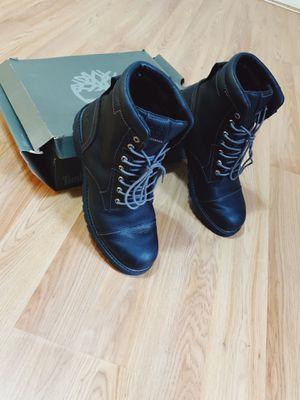 All black leather Timberland! for Sale in Columbia, MD