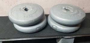 14lb plates for Sale in Oregon City, OR