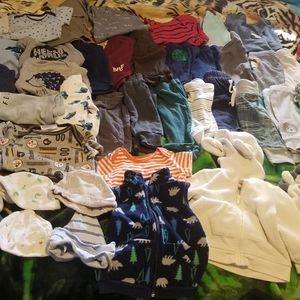 55 Pieces Of Baby Clothes Size 3-6months for Sale in Bell Gardens, CA
