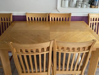 Kitchen Table With 6 Chairs for Sale in North Attleborough,  MA