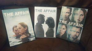 The Affair Seasons 1-3 DVD for Sale in Aiea, HI